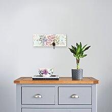 Artland Schlüsselbrett Blumen mit nahtlosem