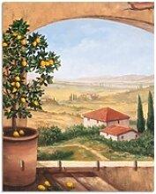 Artland Schlüsselbrett Fenster in der Toskana