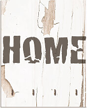 Artland Schlüsselbrett Home, aus Holz mit 4