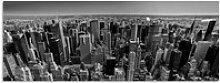 Artland Schlüsselbrett Luftbild von Manhattan New