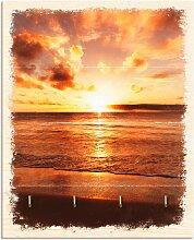 Artland Schlüsselbrett Schöner Sonnenuntergang