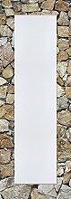 Artland Wand-Flur-Spiegel mit 25mm Facetten-Schliff Deko Modell-Rahmen digital bedruckt Motiv meepoohyaphoto Braune Steinwand Architektur Architektonische Elemente Foto Grau 140,4 x 50,4 x 1,6 cm A7MR