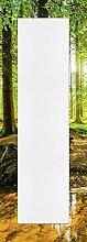 Artland Wand-Flur-Spiegel mit 25mm Facetten-Schliff Deko Modell-Rahmen digital bedruckt Motiv Günter Albers Wald mit Bach Landschaften Wald Fotografie Braun 140,4 x 50,4 x 1,6 cm C0ZA