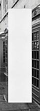 Artland Wand-Flur-Spiegel mit 25mm Facetten-Schliff Deko Modell-Rahmen digital bedruckt Motiv Tupungato Londoner Straße Städte Großbritannien London Fotografie Schwarz/Weiß 140,4 x 50,4 x 1,6 cm C3MS