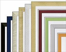 Artland Wand-Spiegel Deko Holz-Kunststoff-Rahmen verziert modern Klassik Qualität Garderoben-Spiegel Kristall-Spiegel Spiegel mit Facette in verschiedenen Rahmen und Größen D0NN