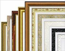 Artland Wand-Spiegel Deko Holz-Kunststoff-Rahmen verziert modern Klassik Qualität Garderoben-Spiegel Kristall-Spiegel Spiegel mit Facette in verschiedenen Rahmen und Größen B6VT