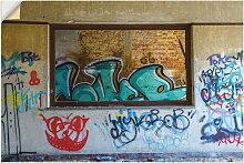 Artland Wandbild Blick durchs Fenster 30x20 cm,