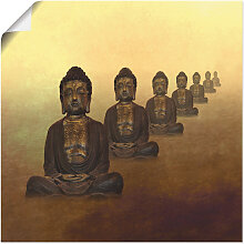 Artland Wandbild Buddha II, Religion, (1 St.), in