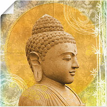 Artland Wandbild Buddha II, Spa, (1 St.), in