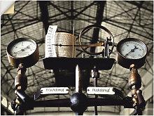 Artland Wandbild Dampfmaschine, Geräte &
