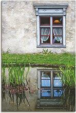Artland Wandbild Fenster 90x60 cm, Leinwandbild