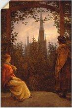 Artland Wandbild Gartenlaube. 1818., Garten (1
