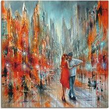 Artland Wandbild Salsa 50x50 cm, Leinwandbild