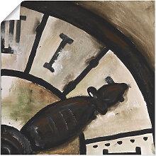 Artland Wandbild Uhr IV, Geräte & Werkzeuge, (1