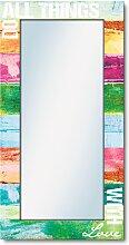 Artland Wandspiegel Tu alles mit Liebe B/H/T: 60,4
