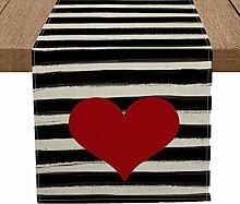 Artoid Mode Aquarell Streifen Love Heart