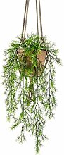 artplants.de Künstliche Blumenampel SILIJA,