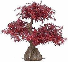 artplants.de Set 2 x Künstlicher Ahorn Bonsai