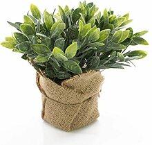 artplants.de Set 3 x Künstlicher Salbei Vitus im