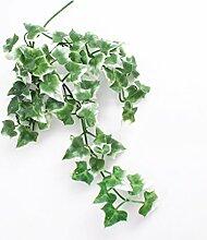 artplants Deko Efeuhänger, grün-weiß, 35cm -