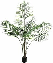 artplants Deko Großblatt-Arecapalme, 185 cm,