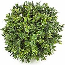 artplants - Hochwertige Deko Buchsbaumkugel, Ø 15