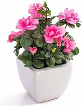 artplants - Künstliche Azalee TABITA, rosa