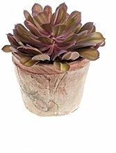 artplants - Künstliche Echeveria ELUTE im