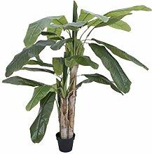 artplants Künstlicher Bananenbaum Makani, 170 cm