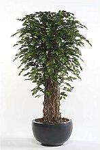 artplants - Künstlicher Ficus Benjamini Adolfo,