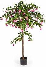 artplants - Künstlicher Fuchsien Baum Santiago