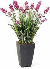 artplants Künstlicher Lavendel im Dekotopf, 13