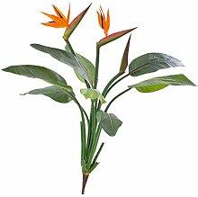 artplants Künstlicher Strelizie-Busch Nubia mit 8