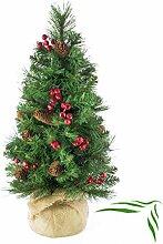 artplants - Künstlicher Weihnachtsbaum BUKAREST,