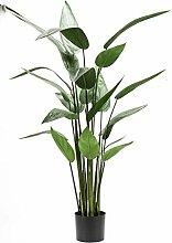 artplants Set 2 x Künstliche Heliconia ANURIA, 22