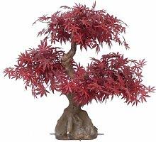 artplants Set 2 x Künstlicher Ahorn Bonsai KAMARU