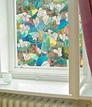 Artscape Sichtschutzfolie Mountain Blossom Fenster