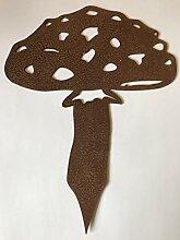 ARTTEC Design Pilz 1 (Gartenstecker) (3er Set,