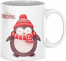 ArtUp.de Weihnachtstasse Pinguin - Tasse