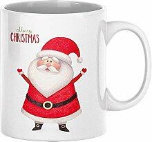 ArtUp.de Weihnachtstasse Weihnachtsmann - Tasse