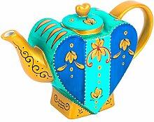 Artvigor, Porzellan Kaffeekanne, 0,85l Tee Kanne,