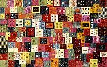 ARTWORK BABO moderner Designer Teppich bunt in