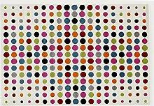 ARTWORK SPLASH moderner Designer Teppich bunt in