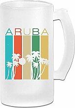 Aruba Souvenir Fashion Frosted Bierkrüge Tumbler