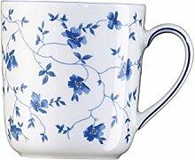 Arzberg 4 Stück Blaublüten Becher mit Henkel