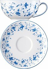 Arzberg Porzellan Form 1382 Blaublüten Teetasse 2