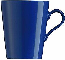 Arzberg Tric Becher SenCup, Becher mit Henkel, Kaffeebecher, Kaffeetasse, Kaffee Tasse, Ocean, Porzellan, 180 ml, 49700-670206-15577