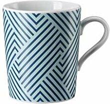 Arzberg Tric Vivid Bloom Pattern blue Becher mit