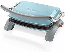 Arzum AR292b Granit Grill and Sandwich Maker, Aluminium, blau, 28 x 28 x 28 cm