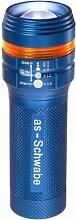 as - Schwabe LichtFabrik LED-Taschenlampe XT 1 mit Zoom Funktion, blau, 42804